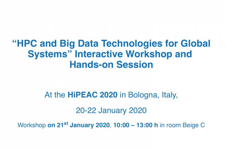 HPC and Big Data Interactive Workshop